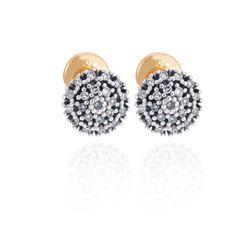 Brinco-de-Ouro-18k-Chuveiro-com-42-Diamantes-br00151-joiasgold