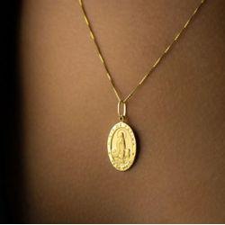 Pingente-de-Ouro-18k-Medalha-de-Nossa-Senhora-de-Fatima-pi01633-joiasgold.
