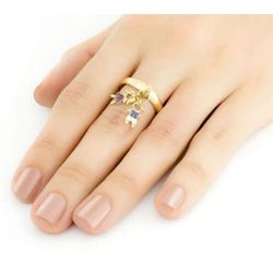 Anel-de-Ouro-18k-Casal-de-Filhos-com-Zirconias-an33522-joiasgold.