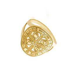 Anel-de-Ouro-18k-Oval-Sao-Bento-Diamantado-an36645-joiasgold