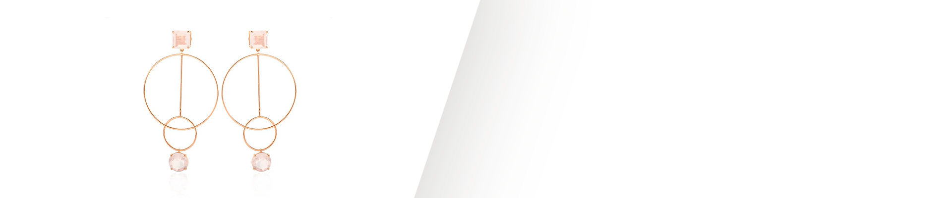 Banner Brincos de Ouro Rose