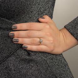 Anel-de-Ouro-18k-Chuveiro-com-12-Diamantes-Rodinado-an06265-joiasgold