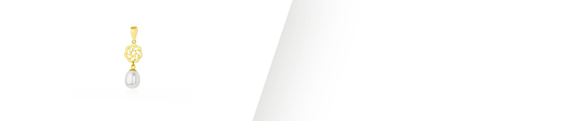 Banner Pingente de Pérola