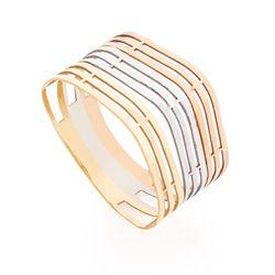 Anel-de-Ouro-18k-Fios-Tricolor-Vazado-an37444-joiasgold
