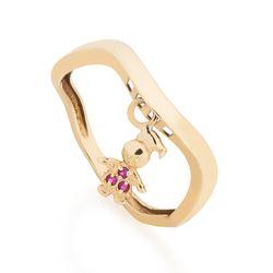 Anel-de-Ouro-18k-Meninas-Penduradas-com-Rubis-an37679-joiasgold