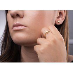 conjunto-ouro-18k-anel-brinco-bola-5mm-cj00201-joiasgold
