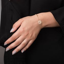 pulseira-ouro-18k-duas-meninas-bolinhas-20cm-pu05766-joiasgold