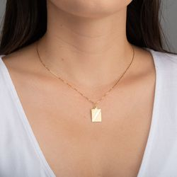 Pingente-de-Ouro-18k-Placa-Borda-Trabalhada-pi21550-Joias-gold
